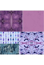Andover Prism - Fat Quarter Pakket - Purple