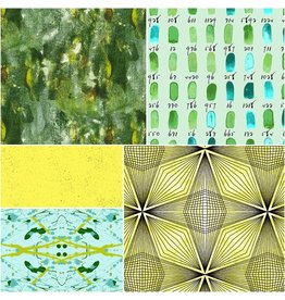 Andover Prism - Fat Quarter Pakket - Green