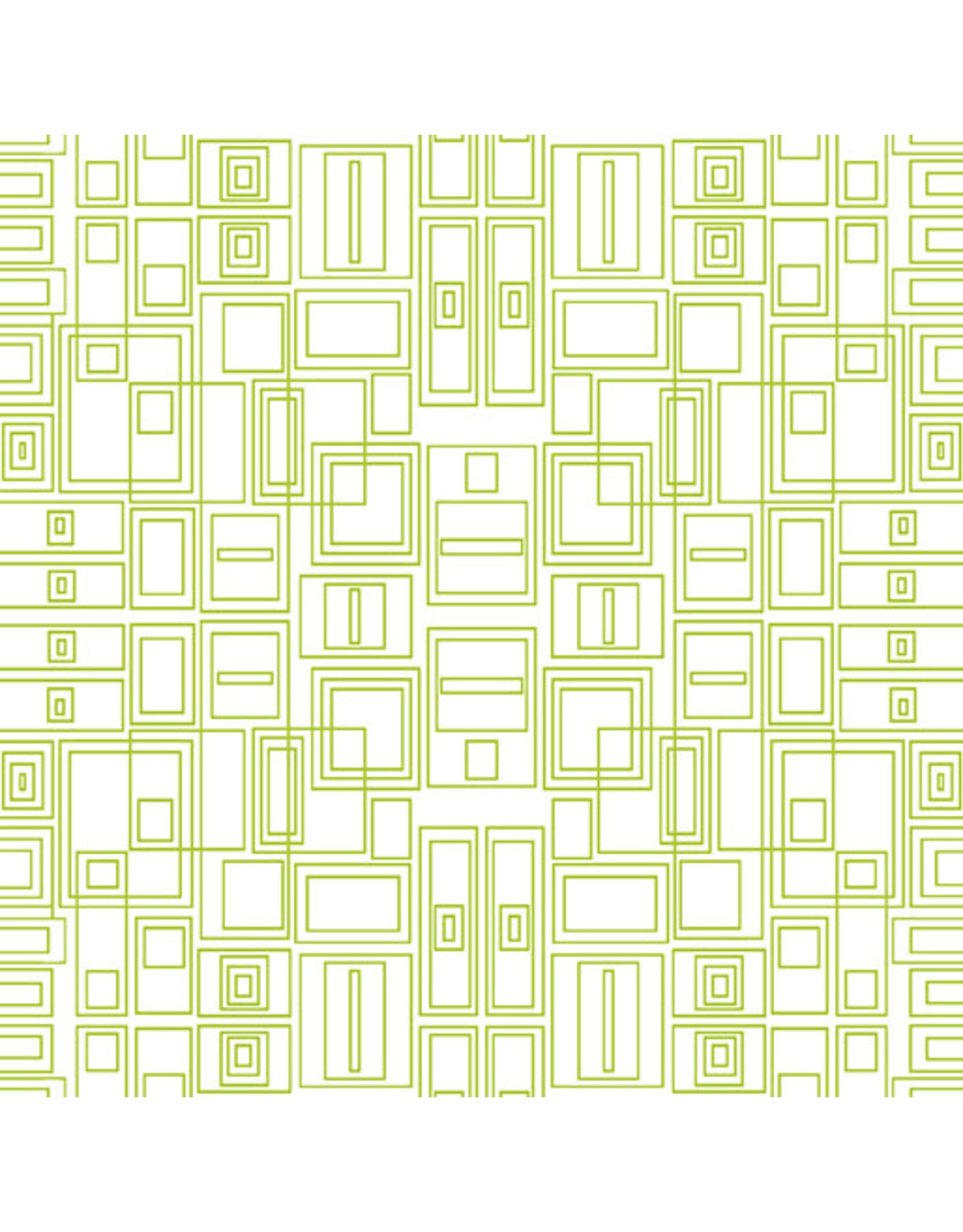 Contempo Good Vibes - Circuit Board Green/White