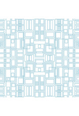 Contempo Good Vibes - Circuit Board Turquoise/White