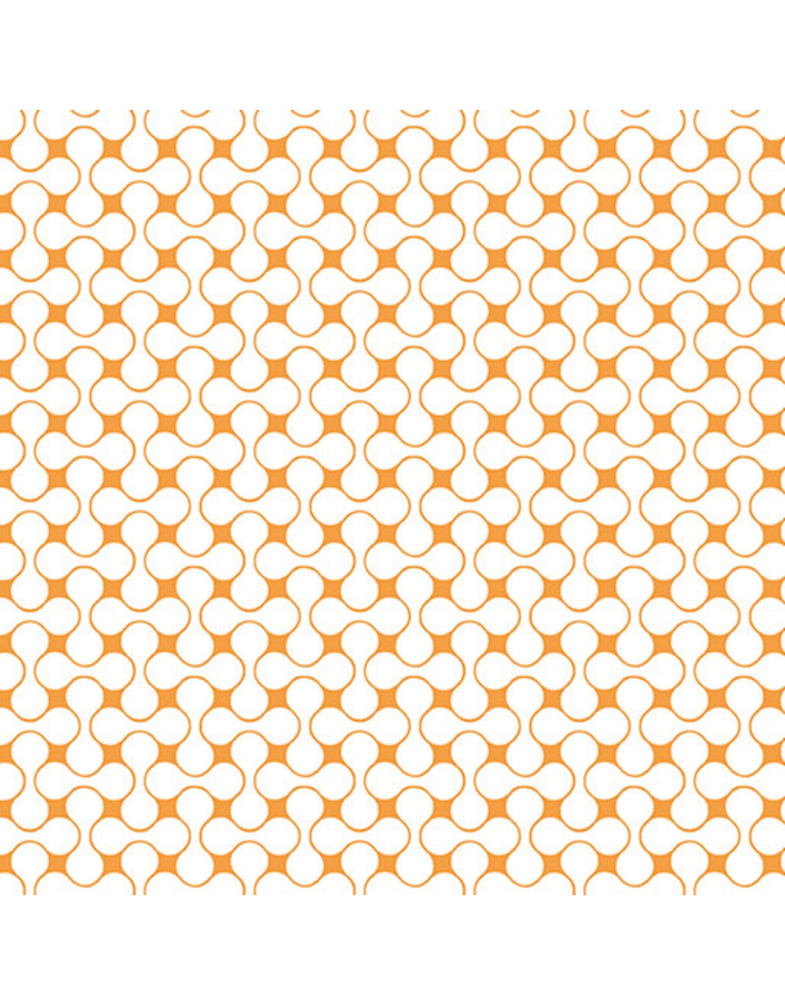 Contempo Good Vibes - Interconnected Orange/White