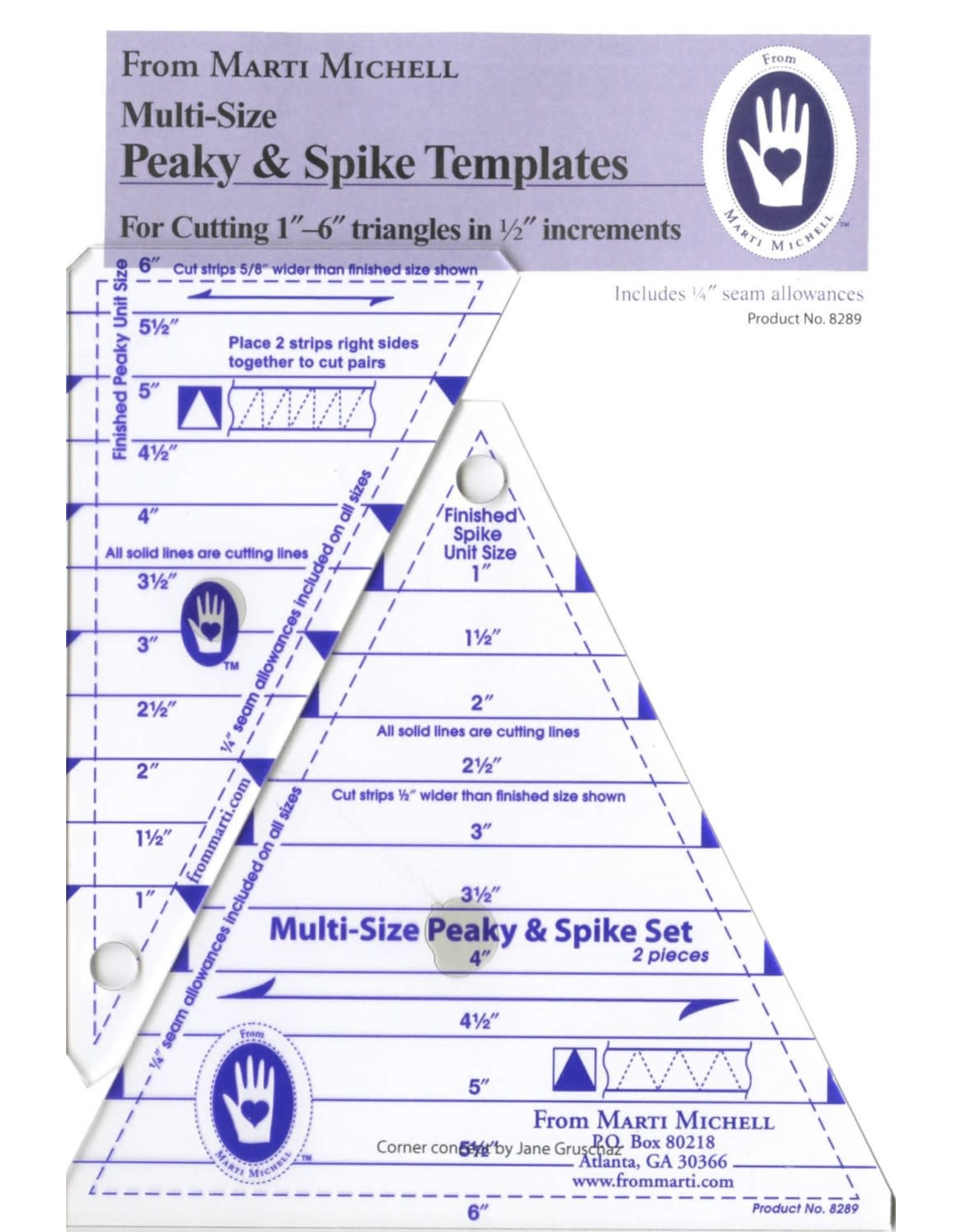 Peaky & Spike Set - Multi-Size - 1 to 6 inch