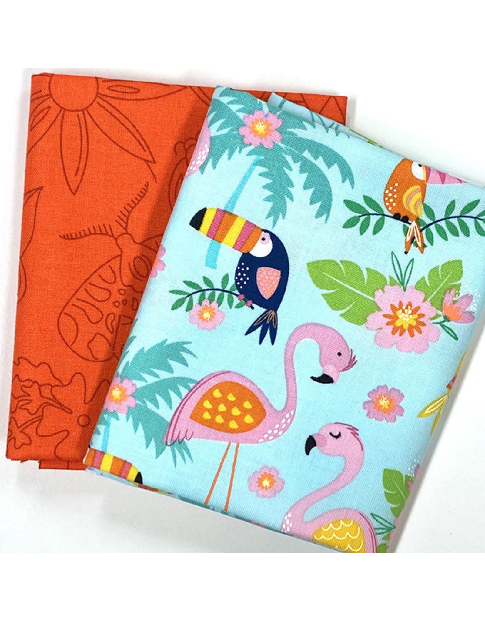 Zomers Duo - Flamingo