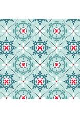 Contempo Mabon - Mosaic in Shallows Aqua