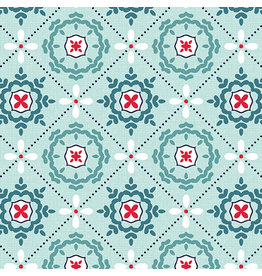 Contempo Mabon - Mosaic in Shallows Aqua