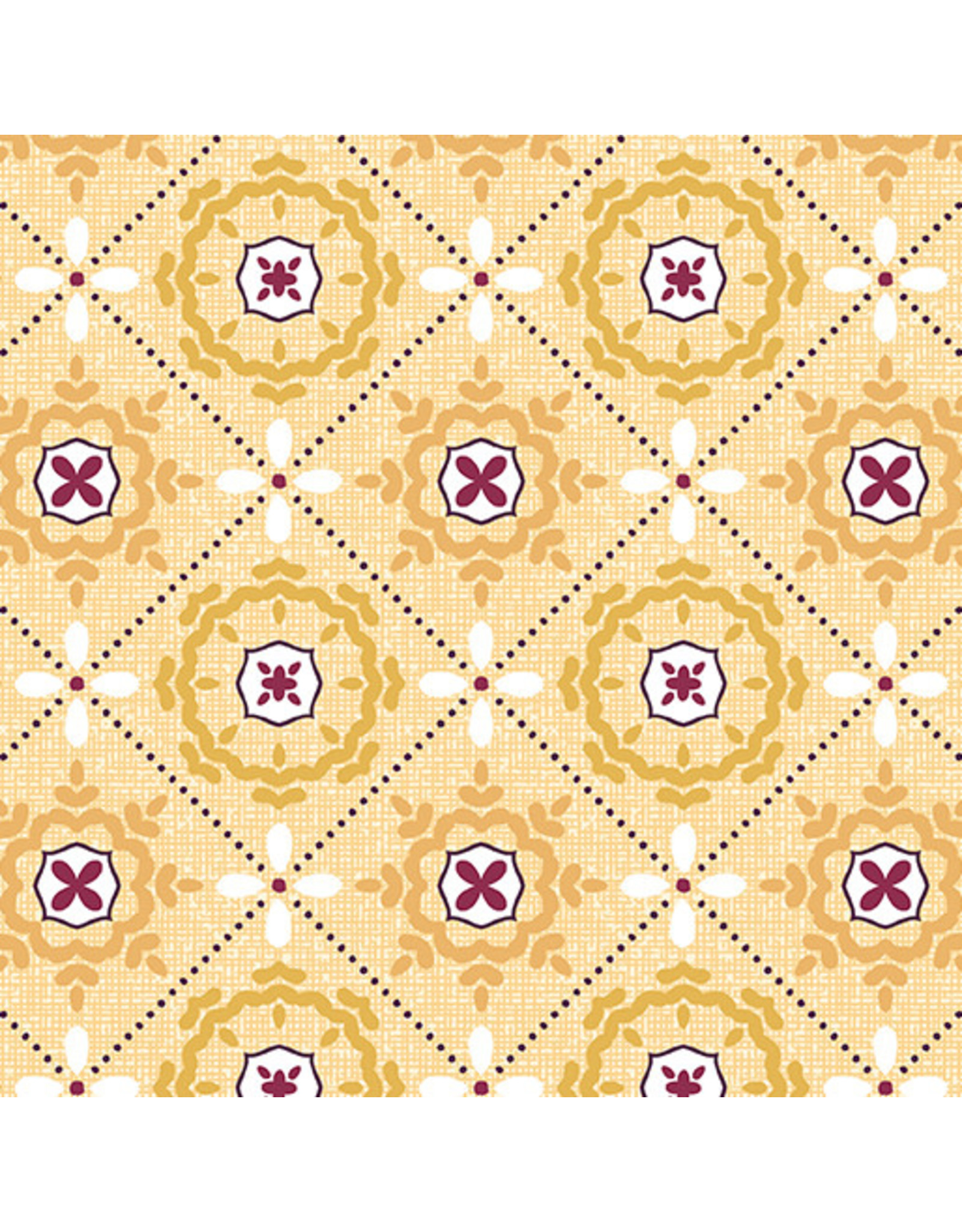Contempo Mabon - Mosaic in Shallows Yellow