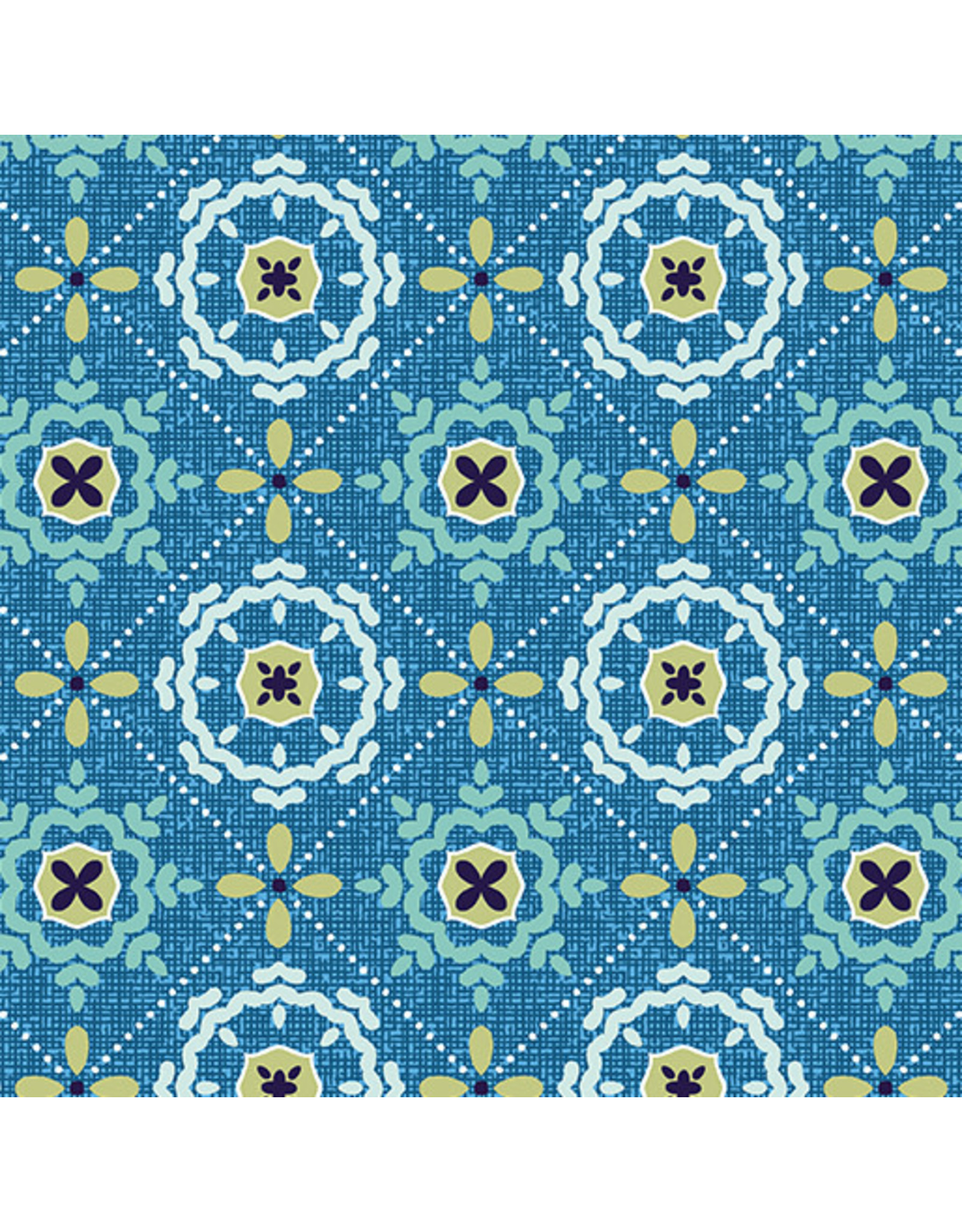 Contempo Mabon - Mosaic in Shallows Blue