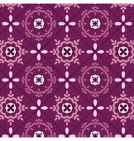 Contempo Mabon - Mosaic in Shallows Plum