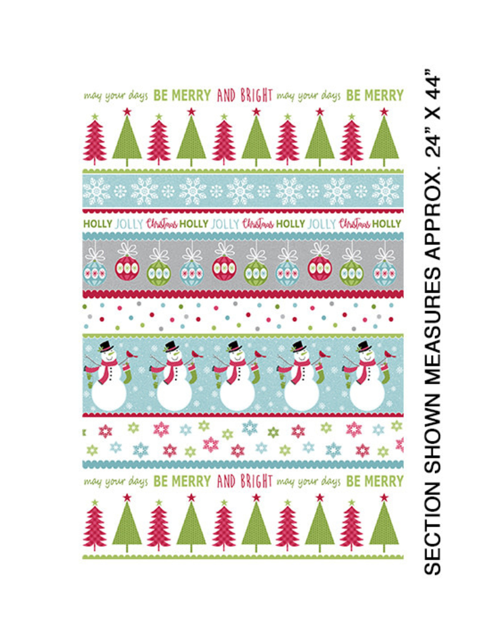 Contempo Joy - Merry and Bright Stripe Multi