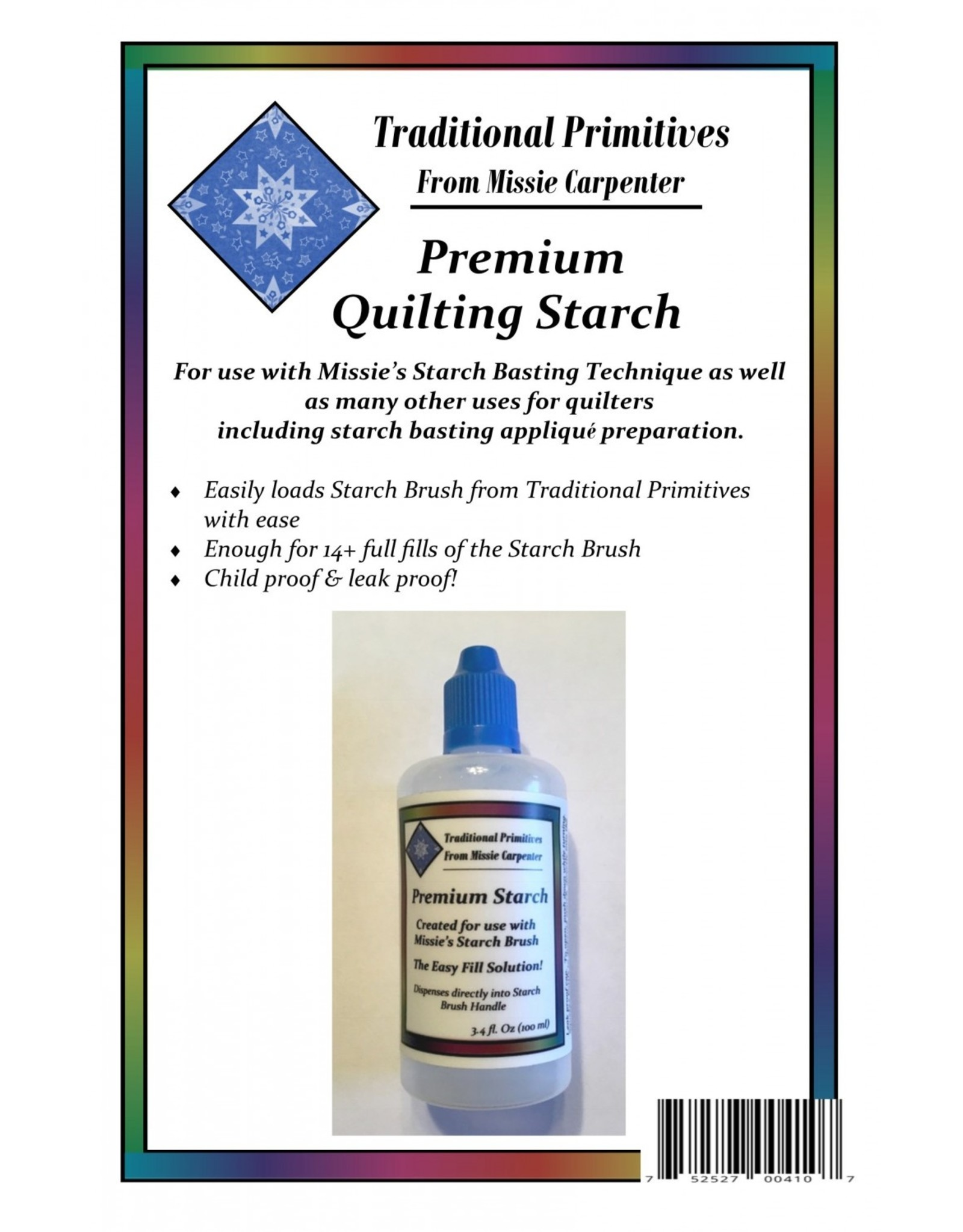 Traditional Primitives Premium Quilting Starch