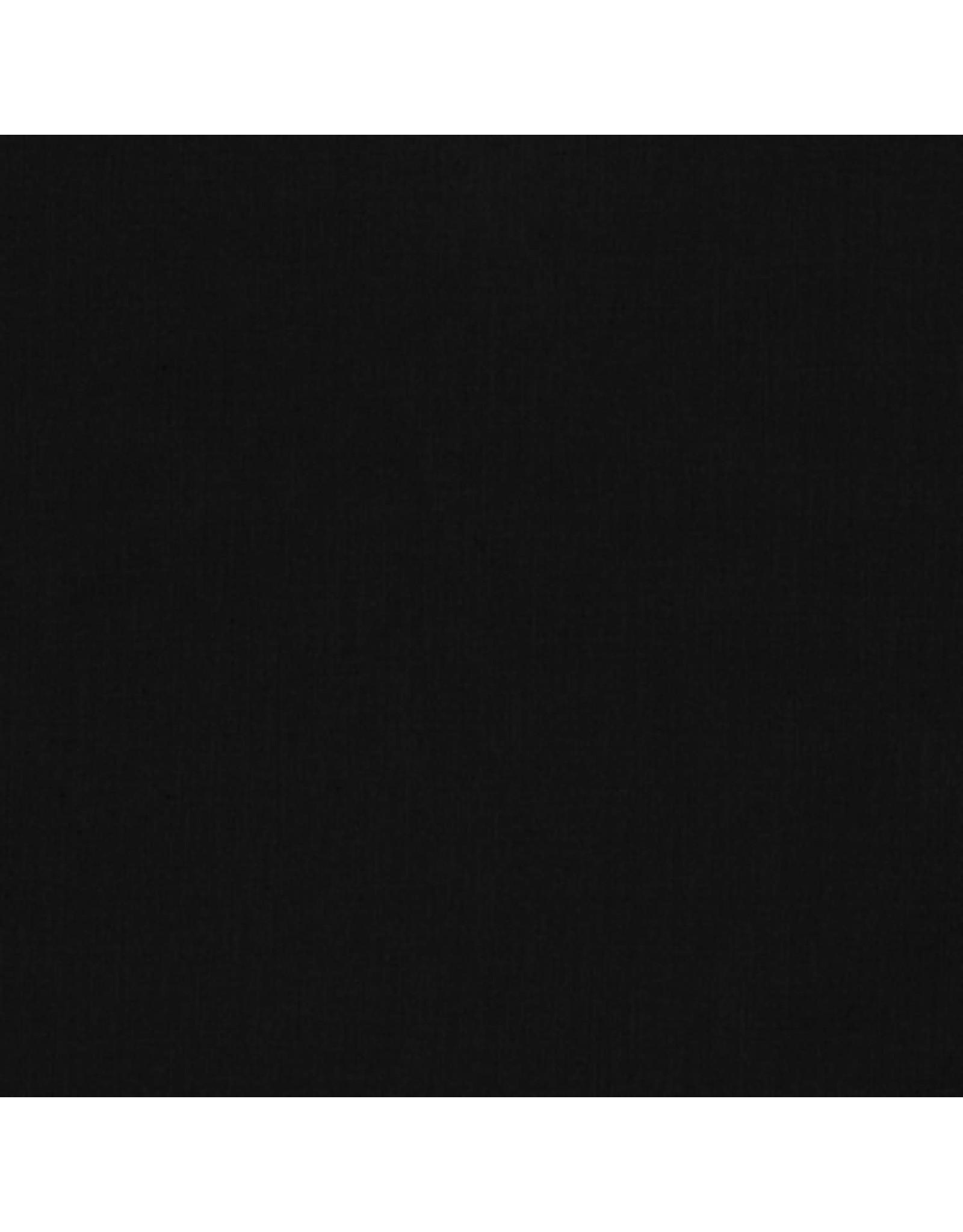 Robert Kaufman Kona Solids - 1019 - Black