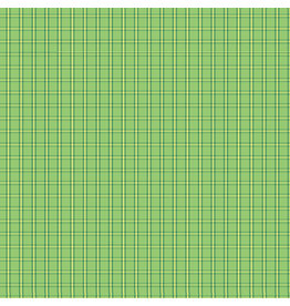 Contempo Warp & Weft - Tiny Plaid Green - fat quarter