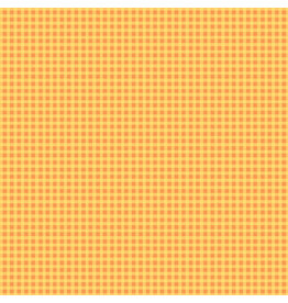 Contempo Warp & Weft - Mini Gingham Orange - fat quarter