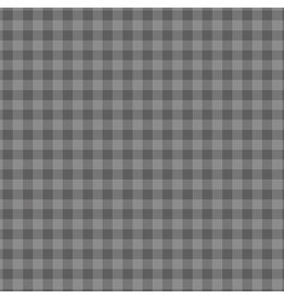 Contempo Warp & Weft - Gingham Gray - fat quarter