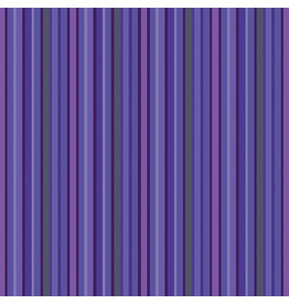 Contempo Warp & Weft - Stripe Purple - fat quarter