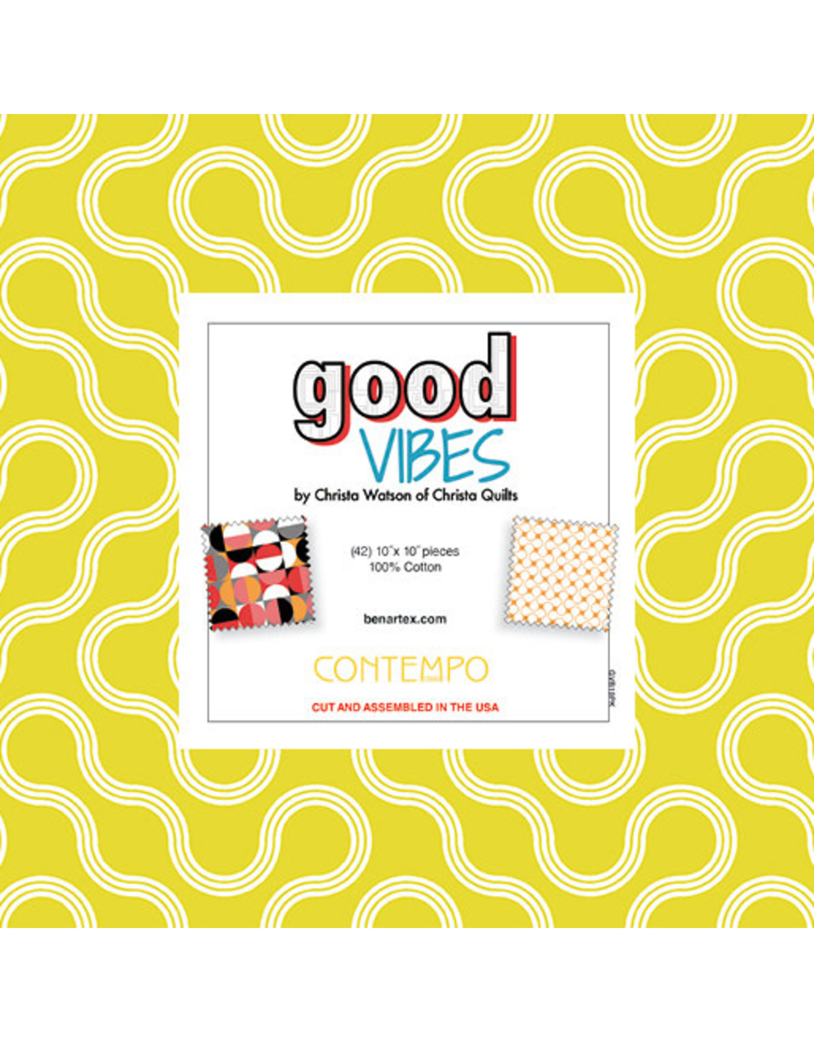 Contempo Good Vibes - 10 x 10 Pack