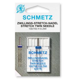 Schmetz Tweelingnaald Stretch - 75 - 4,0 mm