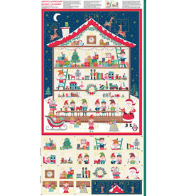Makower UK Santa's Workshop - Advent Kalender