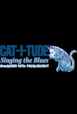 Benartex Cat-I-tude Singing the Blues - Strip-pies