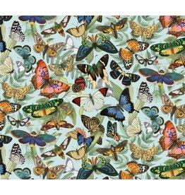 Elizabeth's Studio Secret Escape - Butterfly Allover Blue
