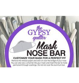 The Gypsy Quilter Neusclip voor mondkapje - 10 stuks
