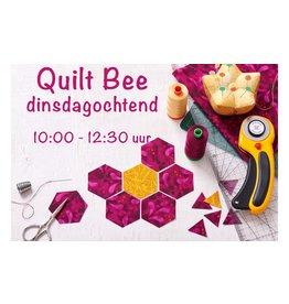 Dinsdag ochtend Bee