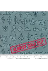 Moda Origami - Crane Teal