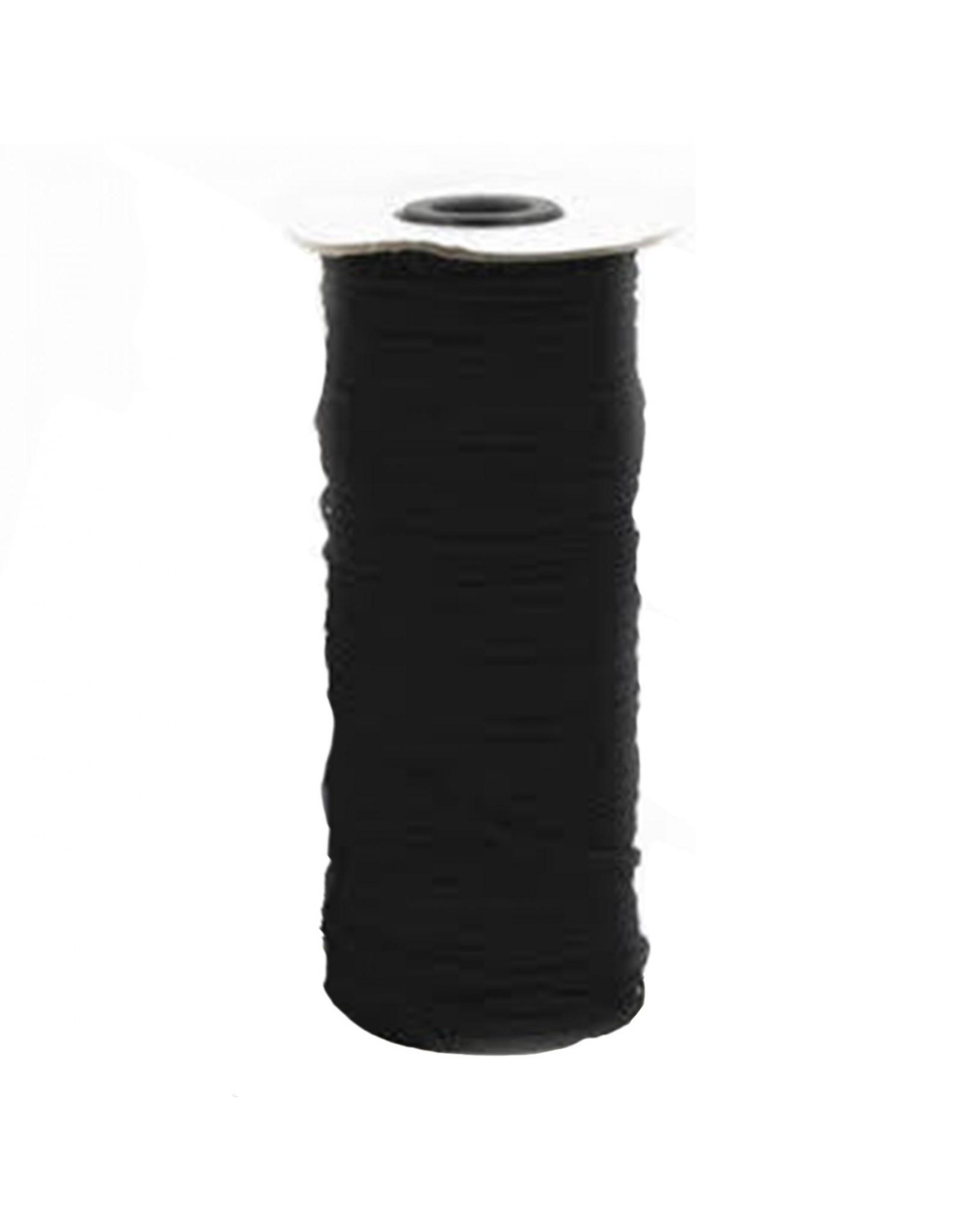 The Gypsy Quilter Elastiek 3 mm breed - 5 meter -  zwart