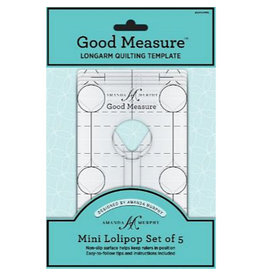 Amanda Murphy - Good Measure Quilting Templates - Mini Lollipop Set