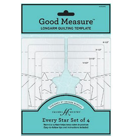 Amanda Murphy - Good Measure Quilting Templates - Every Star Set