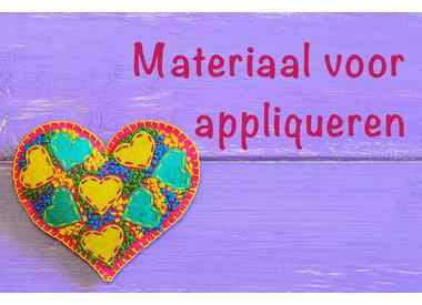 Materialen voor appliqueren