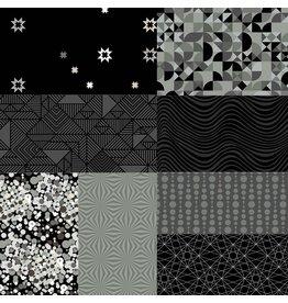 Andover Stealth - Halve Meter Pakket - Black