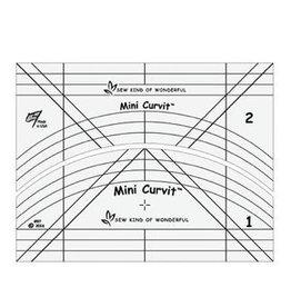 Sew Kind of Wonderful Mini Curvit - Quilting Template