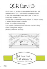Sew Kind of Wonderful Curvit - Quilting Template
