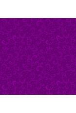 Kanvas Studio Swirling Scroll - Violet
