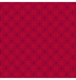 Kanvas Studio Geo Bloom - Crimson