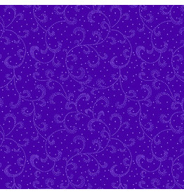 Kanvas Studio Swirling Scroll - Dark Purple