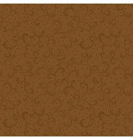 Kanvas Studio Swirling Scroll - Brown Oak