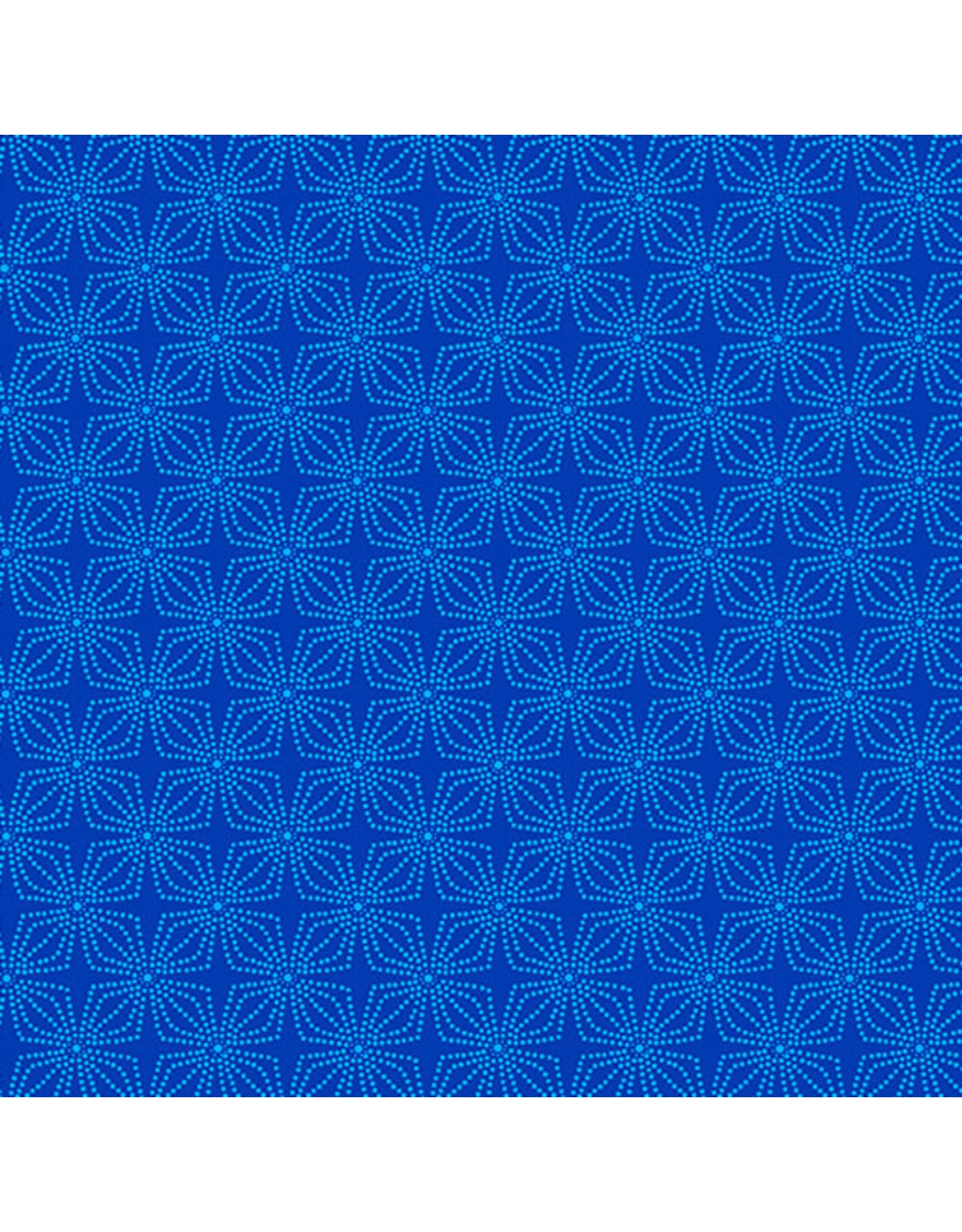 Kanvas Studio Geo Bloom - Cobalt