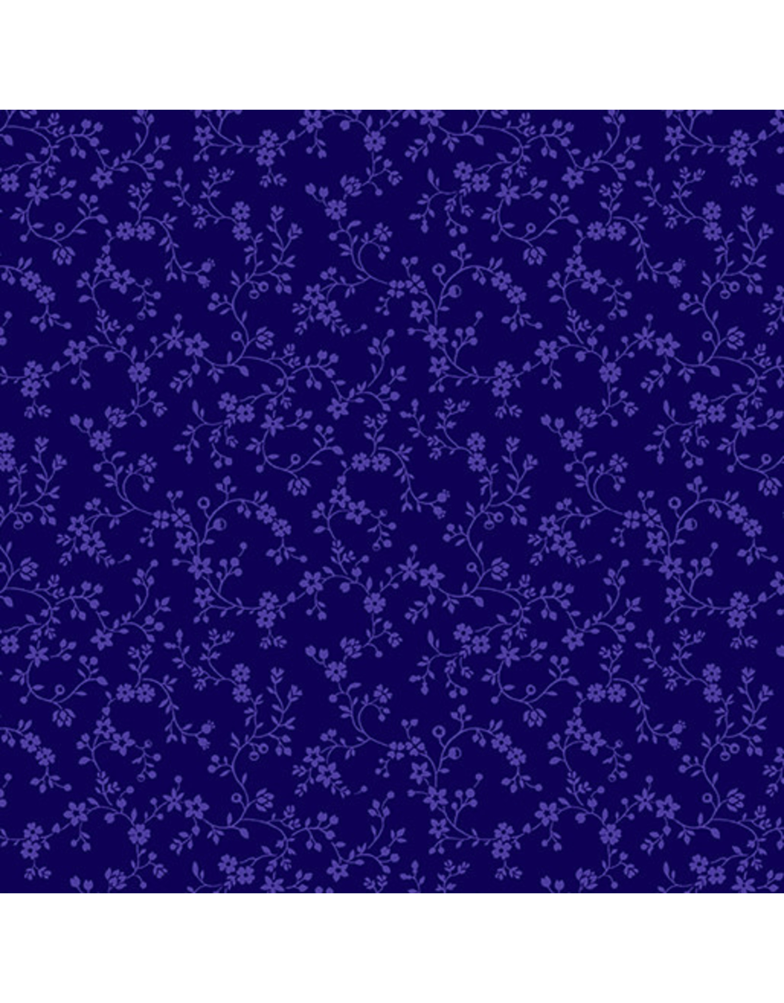 Kanvas Studio Flowery Vines - Navy