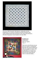 Marti Michell Drunkard's Path Template Set Small - 3 - 4 inch