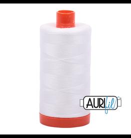 Aurifil Mako 50 - 1300m 2021 - Natural White