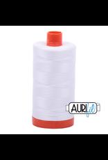 Aurifil Mako 50 - 1300m 2024 - White