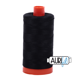 Aurifil Mako 50 - 1300m 2692 - Black