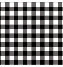 Contempo Warp & Weft 2 - Checkerboard Black/White