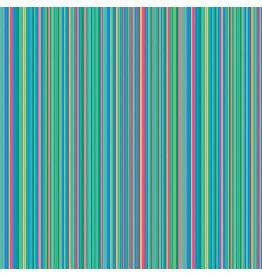 Contempo Warp & Weft 2 - Mini Stripe Jade