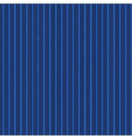 Contempo Warp & Weft 2 - Stripe Navy