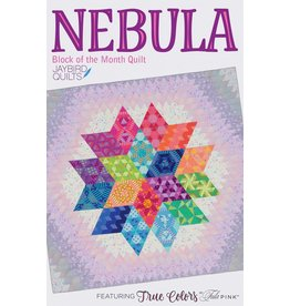 Jaybird Quilts Nebula Quilt - Block of the Month - patroon