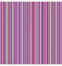 Contempo Warp & Weft 2 - Mini Stripe Purple