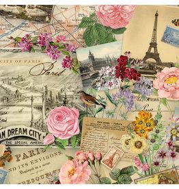 Elizabeth's Studio Spring in Paris - Paris Scenes Cream